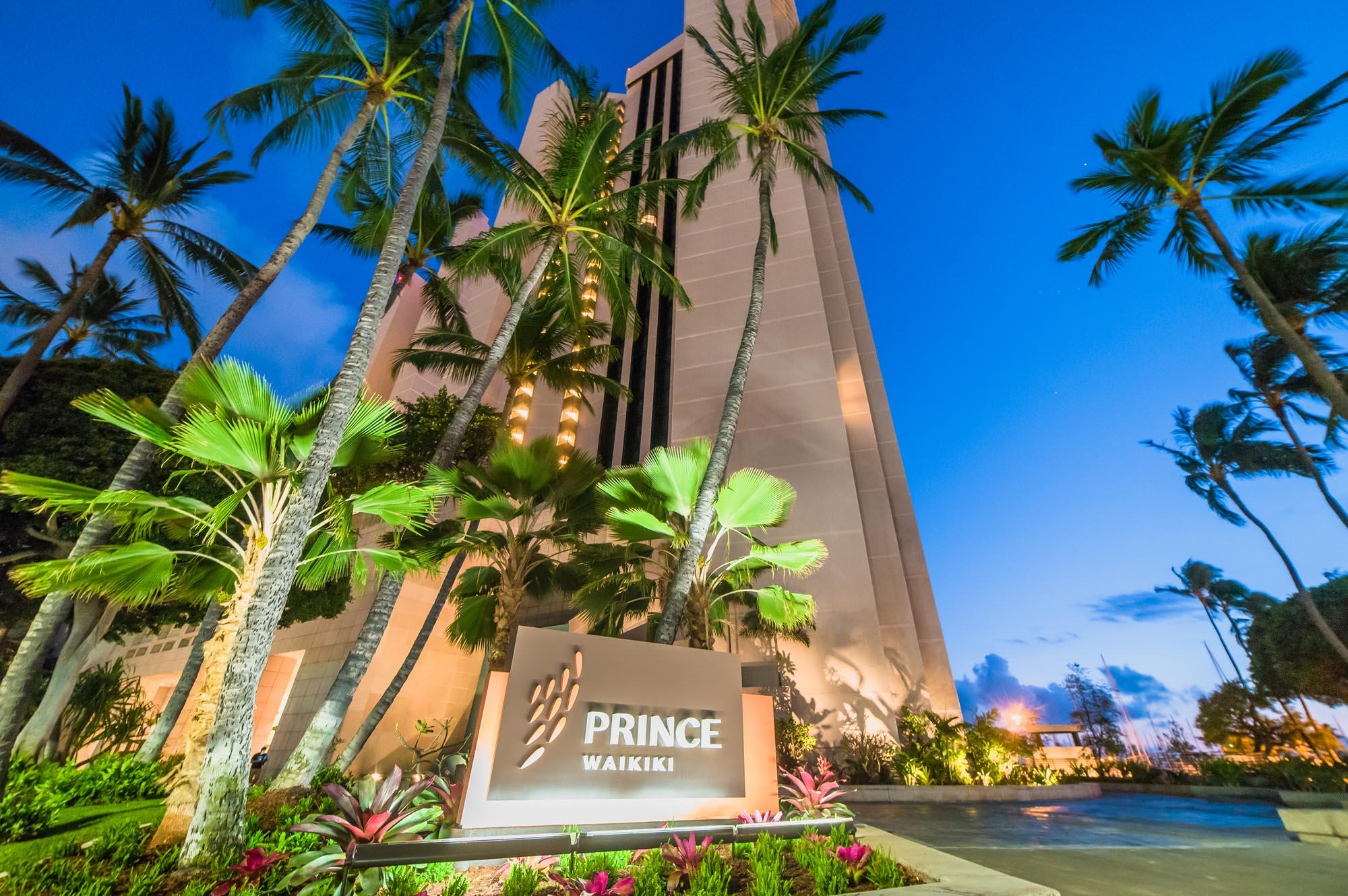Prince Waikiki Arrival