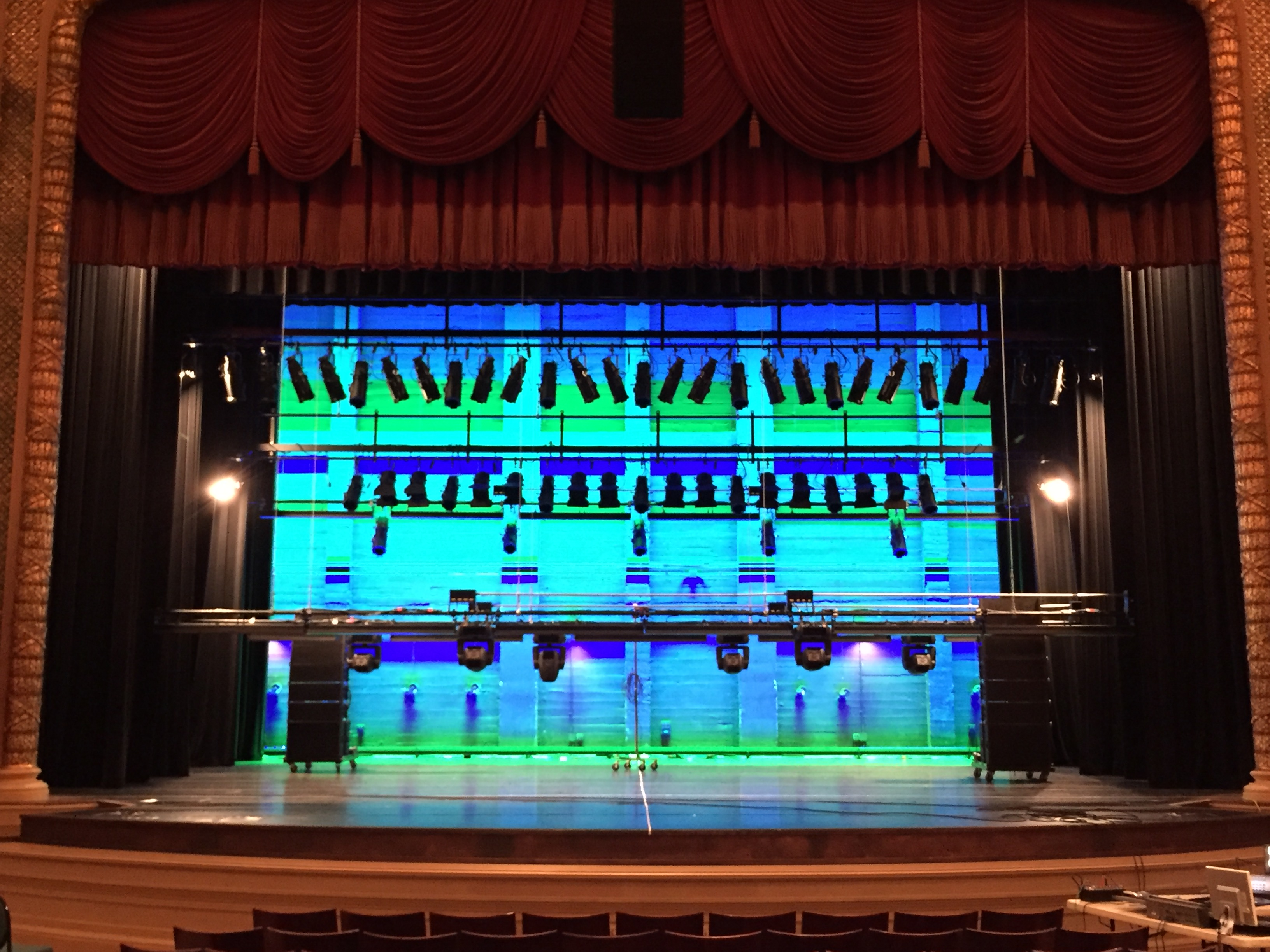 Hawaii Theatre Theatrical Lighting