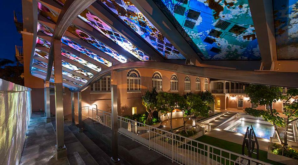 Hawaii State Art Museum Terrace