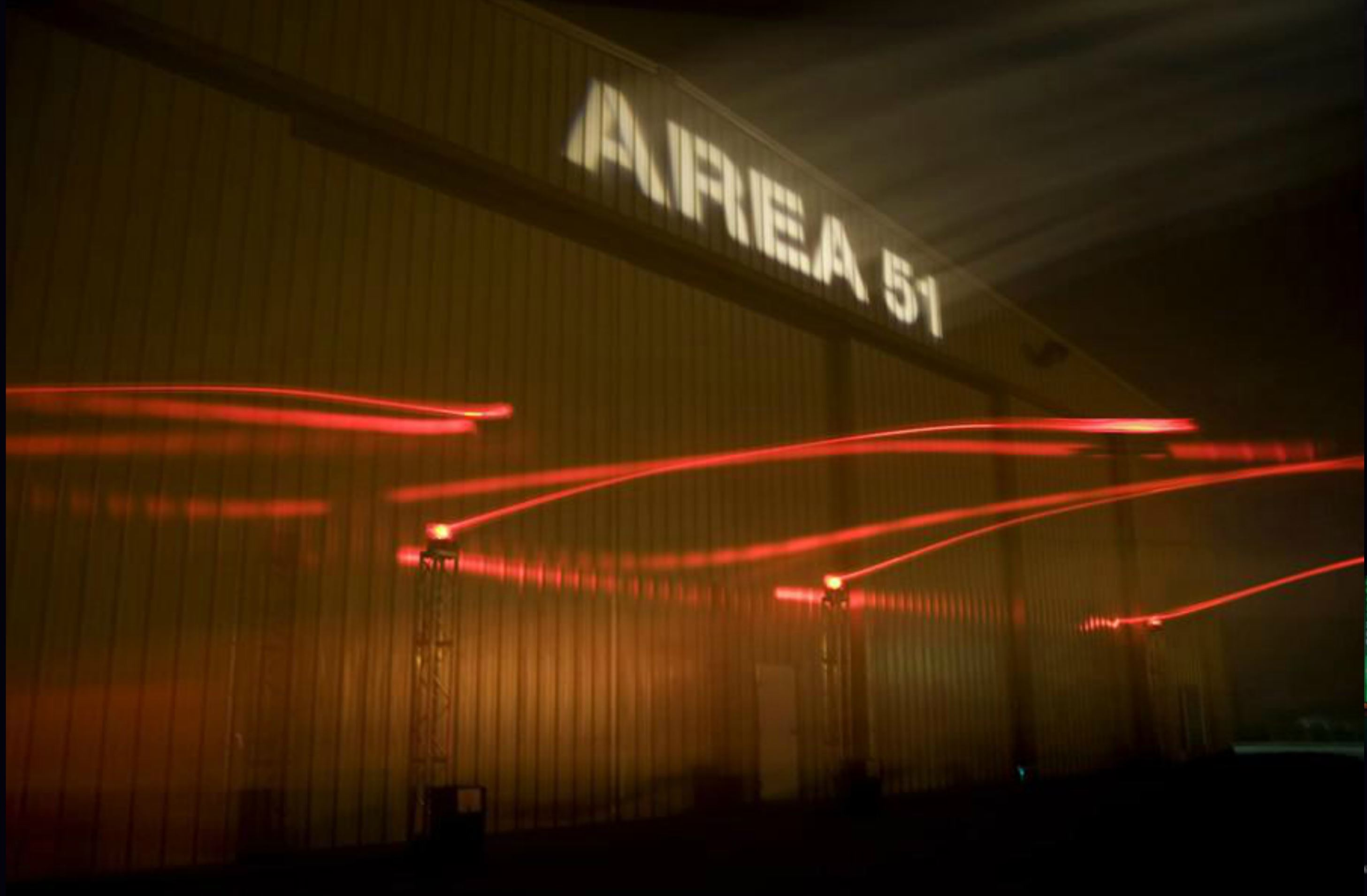 AREA 51 Lighting and Set Design